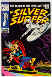 The Silver Surfer #4 (Marvel, 1968) Condition: VG+