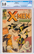 Silver Age (1956-1969):Superhero, X-Men #1 (Marvel, 1963) CGC GD/VG 3.0 Cream to off-white pages....