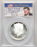 Proof Kennedy Half Dollars, 2014-D 50C Silver, 50th Anniversary Set, First Strike, MS70 PCGS. This lot will also include the following: 2014-S 50C ... (Total: 4 coins)