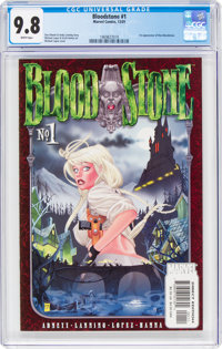 Bloodstone #1 (Marvel, 2001) CGC NM/MT 9.8 White pages