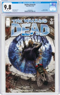 Modern Age (1980-Present):Horror, The Walking Dead #9 (Image, 2004) CGC NM/MT 9.8 White pages....