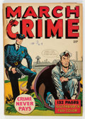 Golden Age (1938-1955):Crime, Fox Giants: March of Crime #nn (Fox Features Syndicate, 1949) Condition: VG....