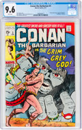 Bronze Age (1970-1979):Adventure, Conan the Barbarian #3 (Marvel, 1971) CGC NM+ 9.6 White pages....