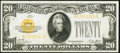 Small Size:Gold Certificates, Fr. 2402 $20 1928 Gold Certificate. Extremely Fine.. ...