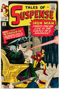 Tales of Suspense #50 (Marvel, 1964) Condition: VG/FN