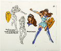 Animation Art:Color Model, Galtar and the Golden Lance - Princess Goleeta Color Model Cel (Hanna-Barbera, 1985). . ...