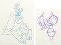 Animation Art:Production Drawing, Sport Goofy in Soccermania Goofy Production Drawings Group of 15 (Walt Disney, 1987).... (Total: 15 Original Art)