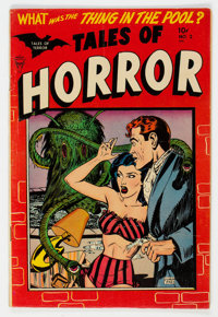 Tales of Horror #2 (Toby Publishing, 1952) Condition: FN-