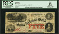 Obsoletes By State:New York, New York, NY- Saint Nicholas Bank $5 Feb. 24, 1864 G8c SENC PCGS Apparent Fine 15.. ...