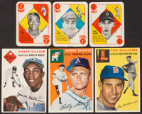 1951 & 1954 Topps Baseball Collection (35) - Includes Stars & HOFers