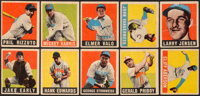 1948 Leaf Baseball Collection (10) - Includes Rizzuto & Vander Meer