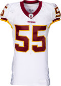 Football Collectibles:Uniforms, 2008 Jason Taylor Game Worn Washington Redskins Jersey - Used 10/26 vs. Lions....