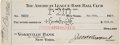 Baseball Collectibles:Others, 1925 Herb Pennock Check Signed by Pennock, Ed Barrow and Jacob Ruppert....