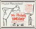 """Movie Posters:Foreign, Mr. Hulot's Holiday (Continental, R-1962). Rolled, Fine/Very Fine. Half Sheet (22"""" X 28"""") Abe Birnbaum Artwork. Foreign.. ..."""