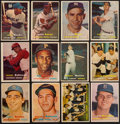 Baseball Cards:Sets, 1957 Topps Baseball Complete Set (407) With One Checklist Card. ...
