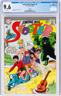 Silver Age (1956-1969):Humor, Swing with Scooter #2 Curator Pedigree (DC, 1966) CGC NM+ 9.6 White pages....