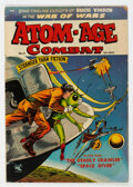 Golden Age (1938-1955):War, Atom-Age Combat #5 (St. John, 1953) Condition: VG+....
