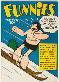 The Funnies #17 (Dell, 1938) Condition: Apparent FN/VF