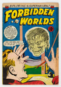 Golden Age (1938-1955):Science Fiction, Forbidden Worlds #25 (ACG, 1954) Condition: FN....