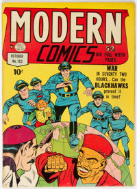 Modern Comics #102 (Quality, 1950) Condition: FN+