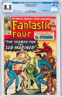 Fantastic Four #27 (Marvel, 1964) CGC VF+ 8.5 Off-white to white pages