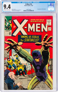 X-Men #14 (Marvel, 1965) CGC NM 9.4 Off-white to white pages