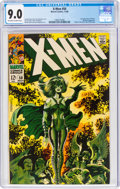Silver Age (1956-1969):Superhero, X-Men #50 (Marvel, 1968) CGC VF/NM 9.0 Off-white to white pages....