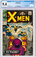 Silver Age (1956-1969):Superhero, X-Men #25 (Marvel, 1966) CGC NM 9.4 Off-white to white pages....