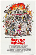 "Movie Posters:Rock and Roll, Rock 'n' Roll High School (New World, 1979). Folded, Very Fine-. One Sheet (27"" X 41"") & Mini Lobby Cards (6) (8"" X 10""). Wi... (Total: 7 Items)"