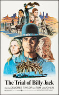 "Movie Posters:Action, The Trial of Billy Jack (Warner Brothers, 1974). Folded, Very Fine. One Sheet (25.5"" X 41""). Larry Salk Artwork. Action.. ..."