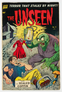 The Unseen #11 (Standard, 1953) Condition: FN