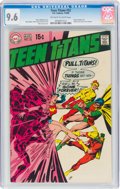 Silver Age (1956-1969):Superhero, Teen Titans #22 (DC, 1969) CGC NM+ 9.6 Off-white to white pages....