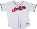 Baseball Collectibles:Uniforms, 2005 C.C. Sabathia Game Worn Cleveland Indians Jersey....