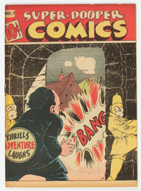 Super-Dooper Comics #7 (Able Mfg. Co./ Harvey, 1946) Condition: FN+