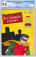 Golden Age (1938-1955):Superhero, Star Spangled Comics #65 (DC, 1947) CGC NM- 9.2 Cream to off-white pages....