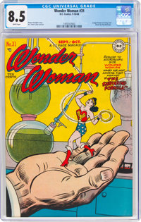 Wonder Woman #31 (DC, 1948) CGC VF+ 8.5 White pages