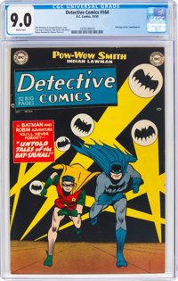 Detective Comics #164 (DC, 1950) CGC VF/NM 9.0 White pages