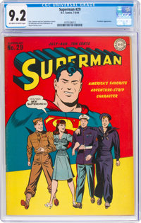 Superman #29 (DC, 1944) CGC NM- 9.2 Off-white to white pages