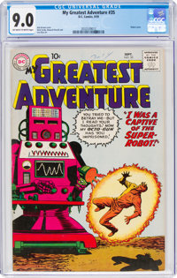 My Greatest Adventure #35 (DC, 1959) CGC VF/NM 9.0 Off-white to white pages