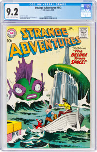 Strange Adventures #113 (DC, 1960) CGC NM- 9.2 Cream to off-white pages