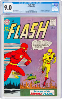 The Flash #139 (DC, 1963) CGC VF/NM 9.0 White pages