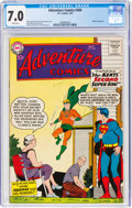 Silver Age (1956-1969):Superhero, Adventure Comics #260 (DC, 1959) CGC FN/VF 7.0 White pages...