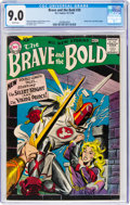 Silver Age (1956-1969):Adventure, The Brave and the Bold #20 (DC, 1958) CGC VF/NM 9.0 White pages....