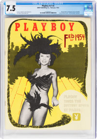 Playboy #3 (HMH Publishing, 1954) CGC VF- 7.5 White pages