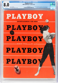 Playboy #4 (HMH Publishing, 1954) CGC VF 8.0 White pages