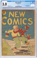 Platinum Age (1897-1937):Miscellaneous, New Comics #1 (DC, 1935) CGC GD/VG 3.0 Cream to off-white pages....