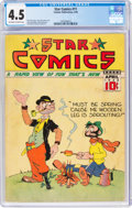 Golden Age (1938-1955):Miscellaneous, Star Comics #11 (Centaur, 1938) CGC VG+ 4.5 Off-white to white pages....