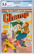 Golden Age (1938-1955):Superhero, Champ Comics #16 (Harvey, 1941) CGC FN- 5.5 Off-white pages....