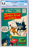 Silver Age (1956-1969):Superhero, Detective Comics #235 (DC, 1956) CGC VF/NM 9.0 Off-white to white pages....