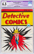 Platinum Age (1897-1937):Miscellaneous, Detective Comics #4 (DC, 1937) CGC Apparent FN+ 6.5 Slight/Moderate (B-2) Cream to off-white pages....